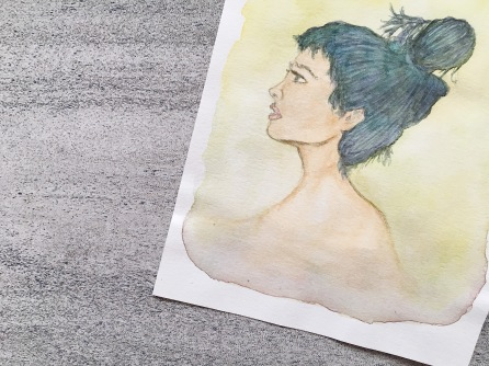 watercolor on paper | (c) Yang Cuevo