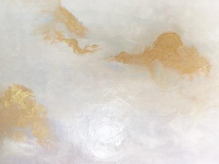 acrylic, gesso, glazing on canvas sheet   (c) Yang Cuevo