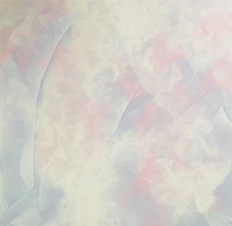 acrylic and glazing liquid on stretched canvas  (c) Yang Cuevo