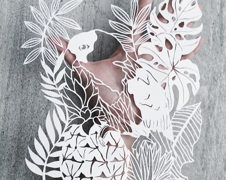 papercutting-art-white-tropical-wall-artcustom-artwork-handcut-papercut