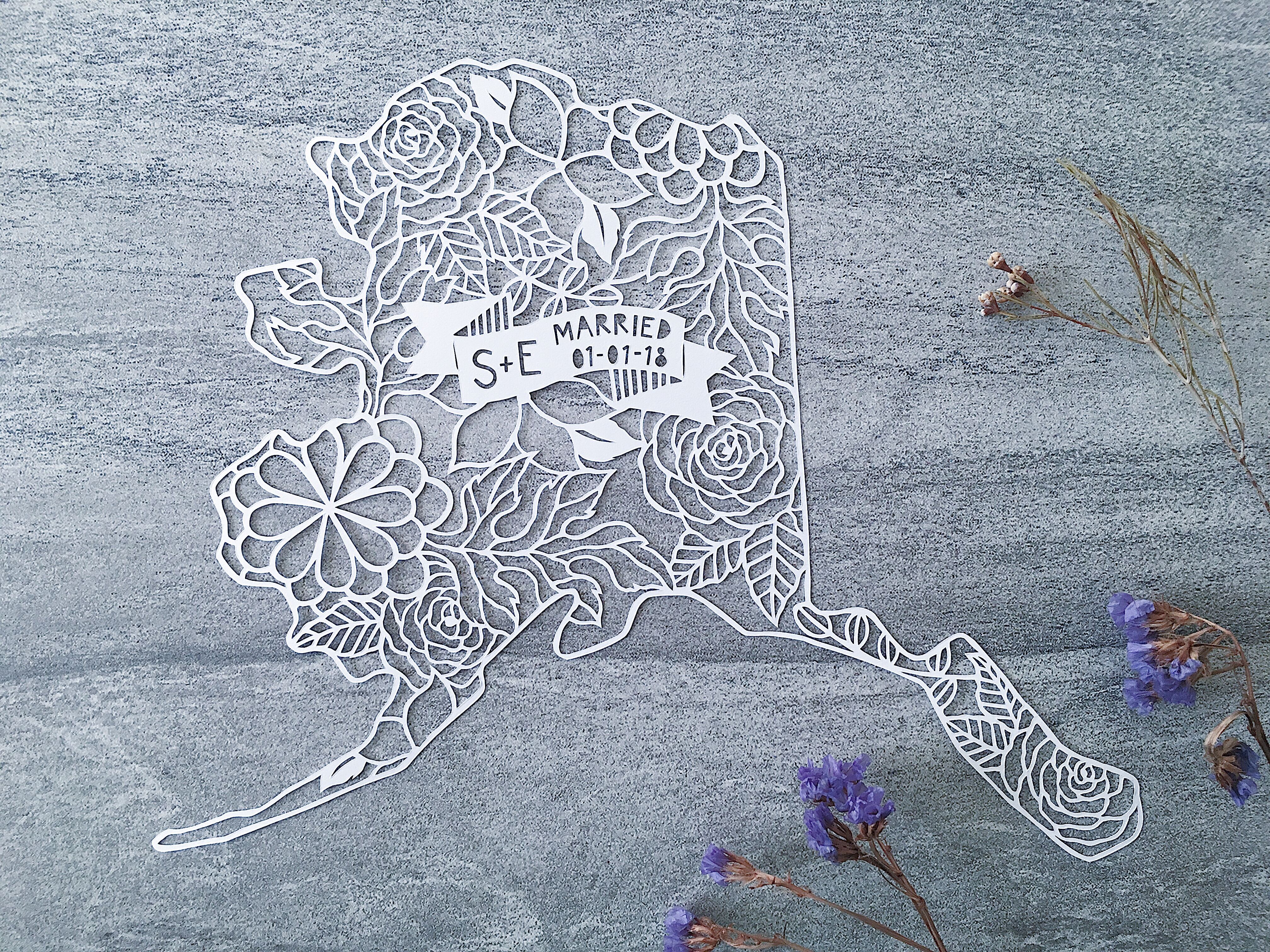 alaska-papercut-map-custom-art-papercutting-wedding-gift-handmade-scherenschnitte (9)
