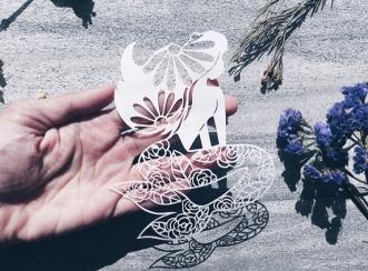 bespoke-scherenschnitte-papercut-mermaid-floral-art-papercutting