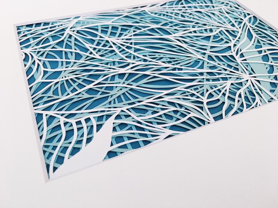 contemporary-art-papercutting-scherenschnitte-home-decor-framed-paperuct-art