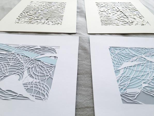 contemporary-art-papercutting-scherenschnitte-home-decor-framed-paperuct-art (3)