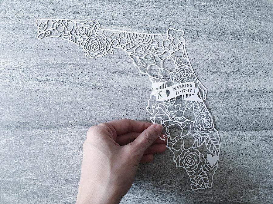 custom-anniversary-gift-florida-wedding-map-papercutting-papercut-art-handcut-home-decor (2)