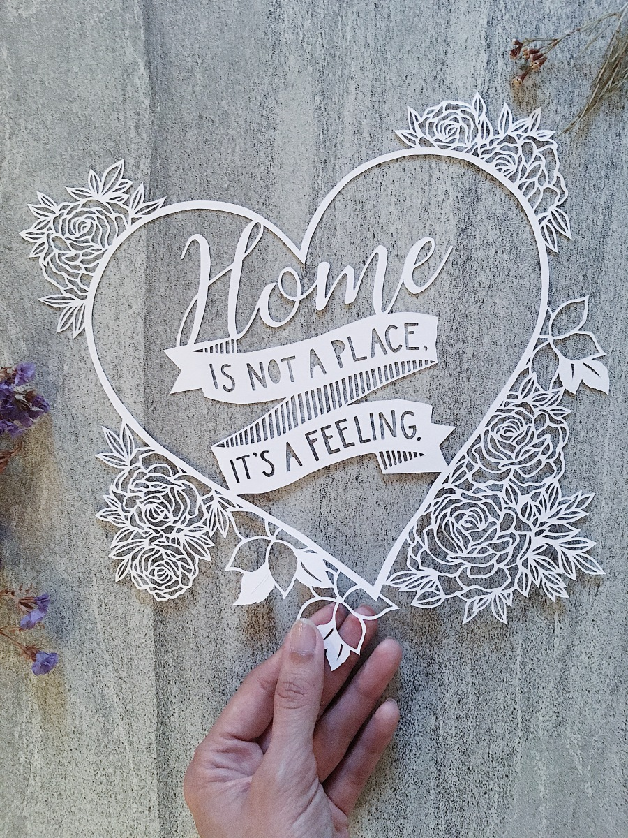 custom-papercut-art-bridal-gift-for-parents-home-decor-scherenschnitte-set-family-papercutting-artwork