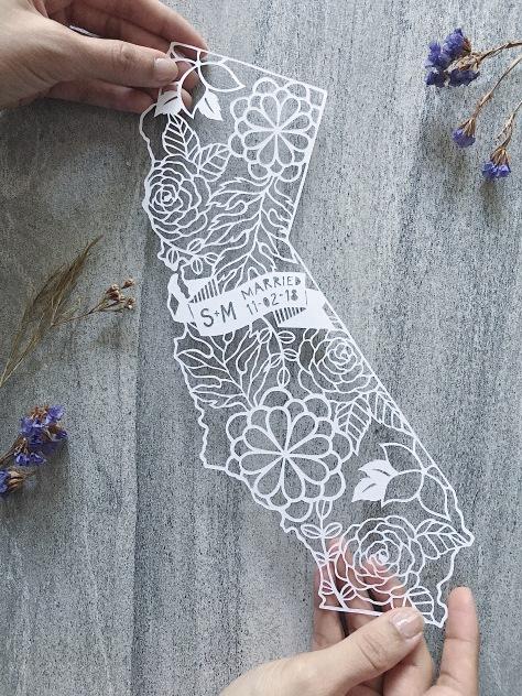 custom-wedding-anniversary-gift-california-papercut-art-papercutting-map (4)