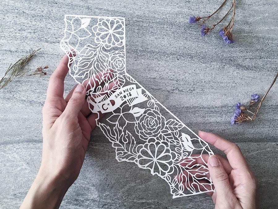 custom-wedding-memorabilia-papercut-art-california-map-home-decor (3)