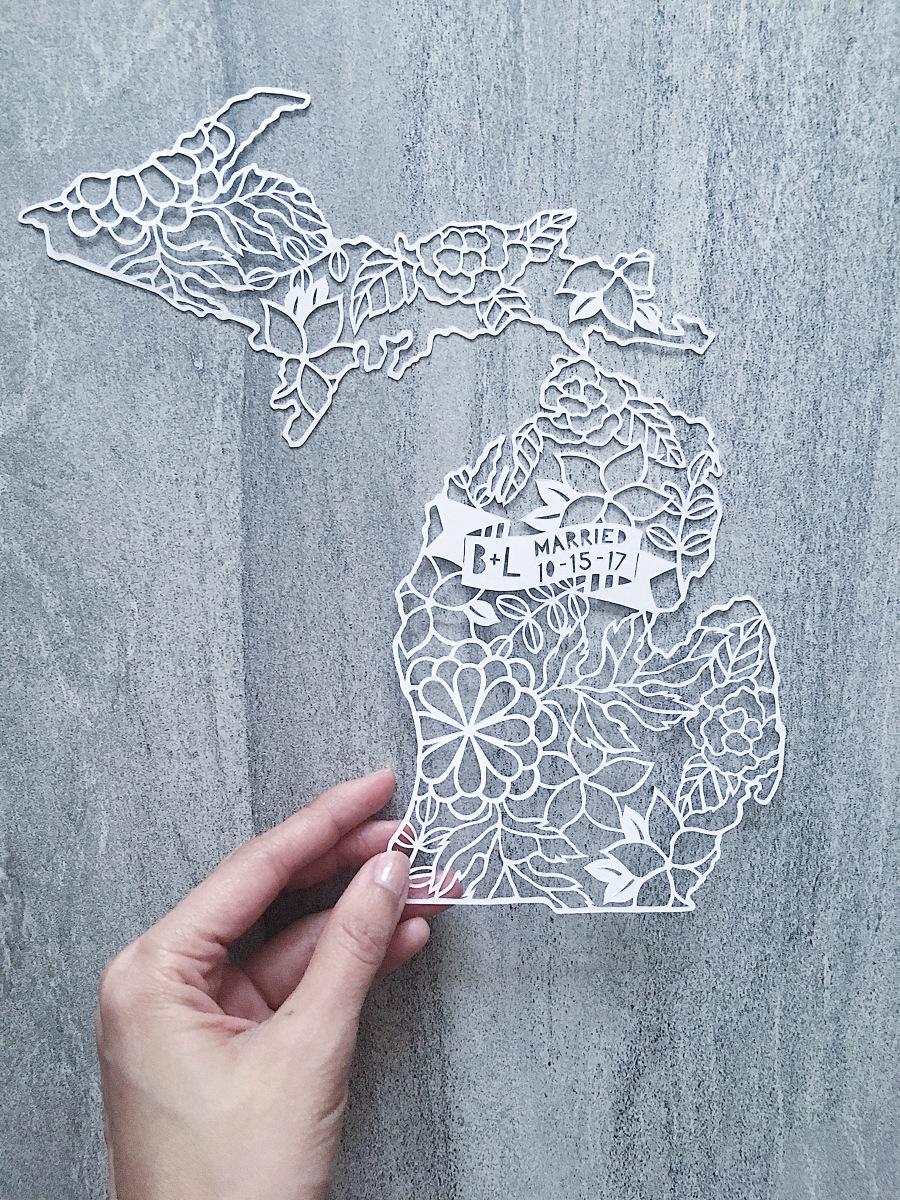 papercut-art-custom-michigan-map-wedding-anniversary-gift-papercutting-home-decor (2)