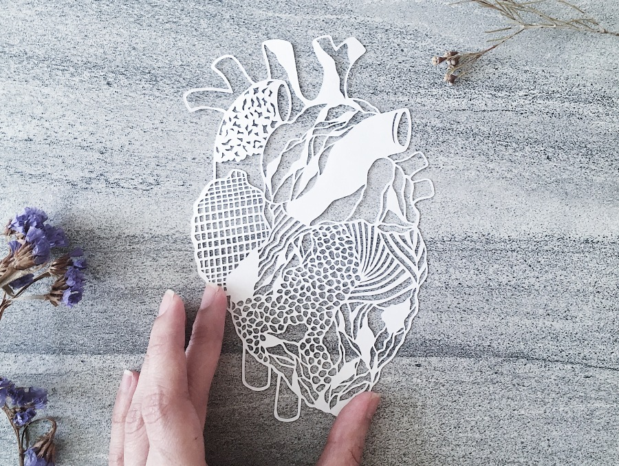 papercutting-abstract-heart-contemporary-art-home-decor-papercut-art-handcut-paper-collage (1)
