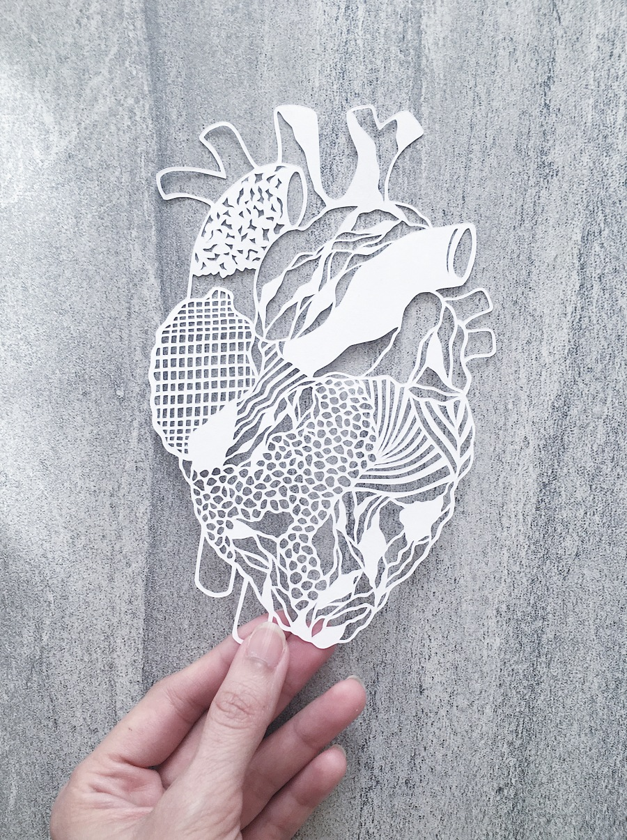 papercutting-abstract-heart-contemporary-art-home-decor-papercut-art-handcut-paper-collage (3)