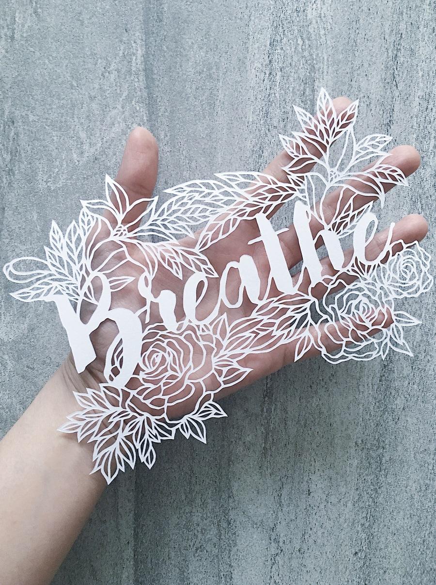 papercutting-inspirational-art-motivational-gift-papercut-contemporary-art-home-decor-housewarming-gift
