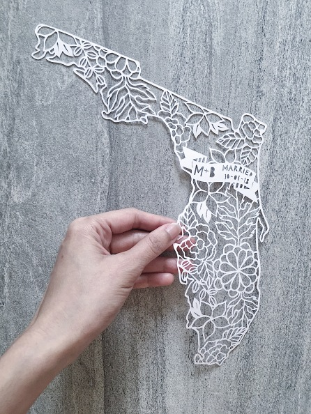 valentines-day-gift-custom-papercut-art-florida-map-papercutting-wedding-scherenschnitte (1)