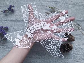 wedding-gift-custom-texas-map-scherenschnitte-papercut-art-papercutting (2)
